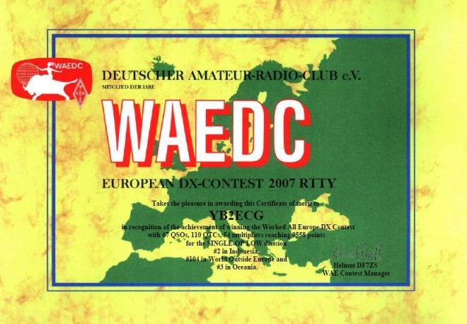 WAE2007