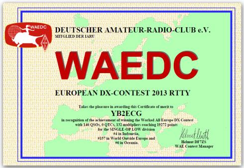 waedc 2013